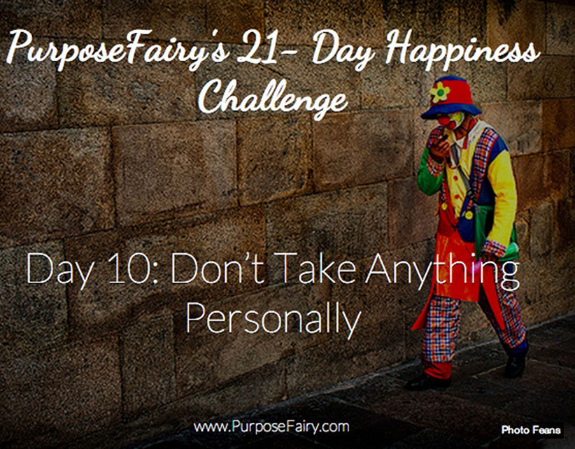 21-Day Happiness Challenge Day 10