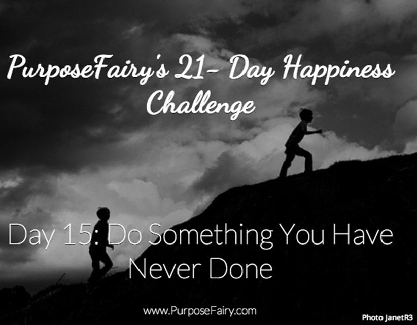 21-Day Happiness Challenge Day 15