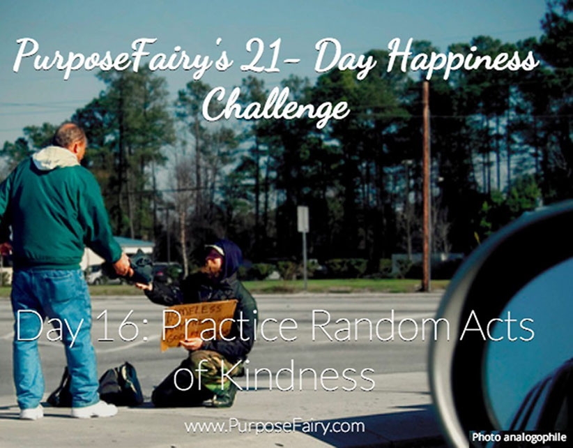 21-Day Happiness Challenge Day 16
