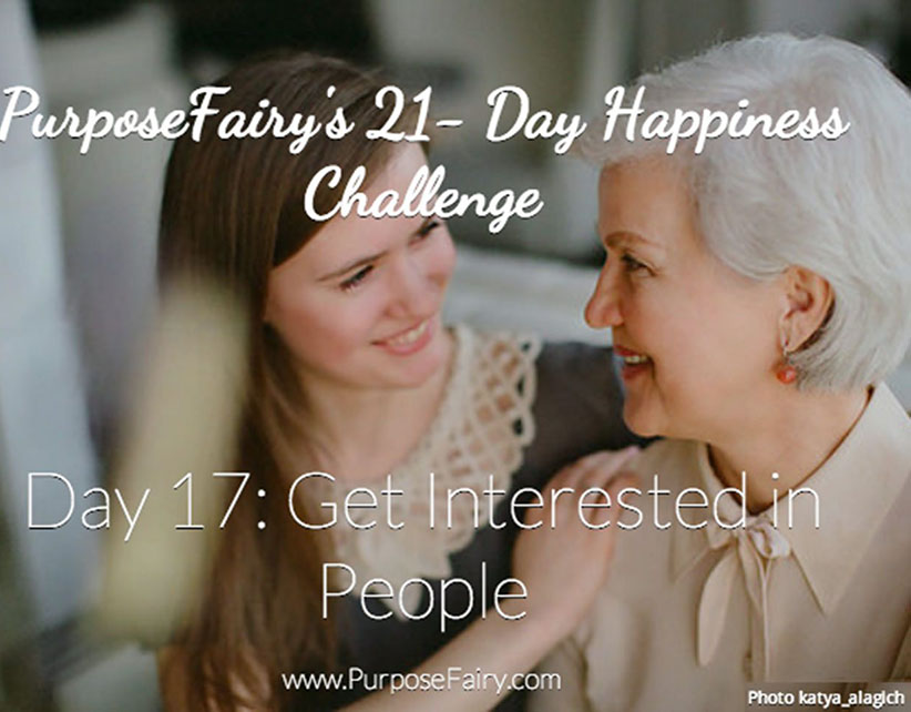 21-Day Happiness Challenge Day 17