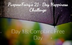 21-Day Happiness Challenge Day 18
