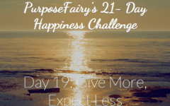 21-Day Happiness Challenge Day 19