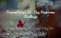 21-Day Happiness Challenge Day 20