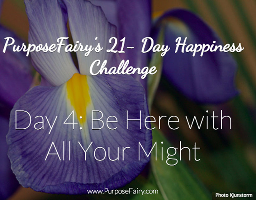 21-Day Happiness Challenge Day 4