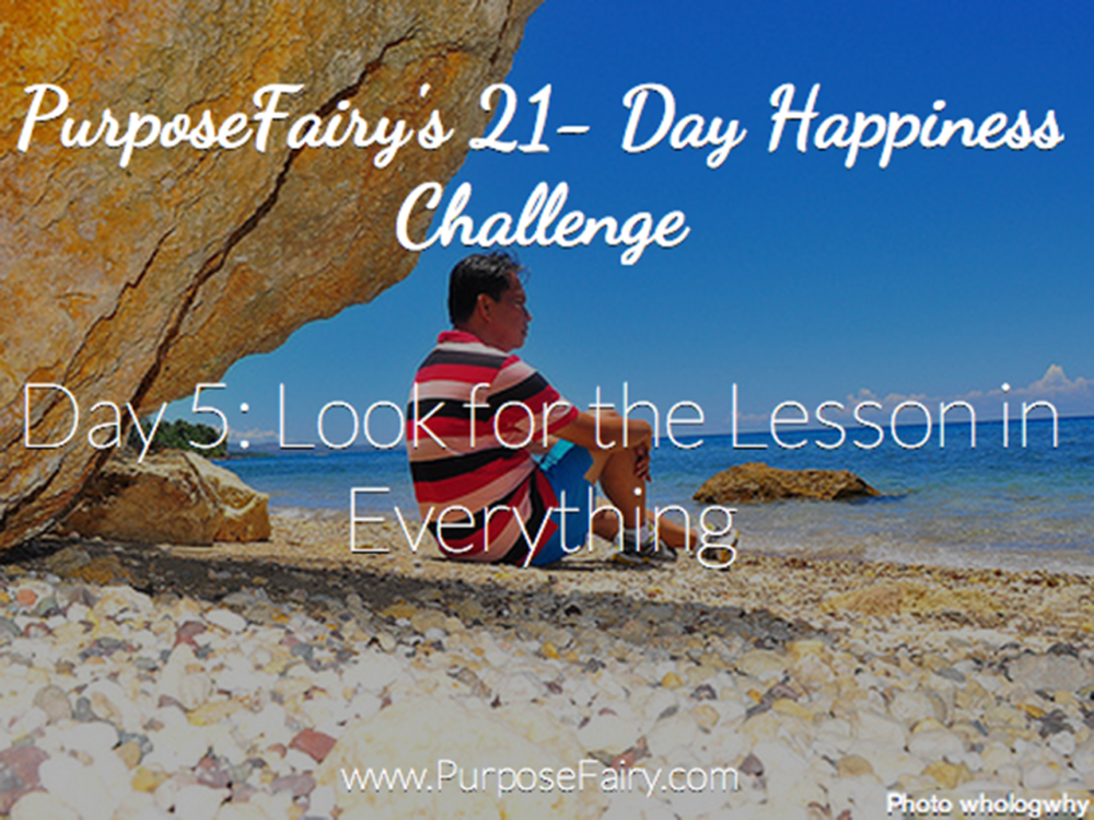 21-Day Happiness Challenge Day 5