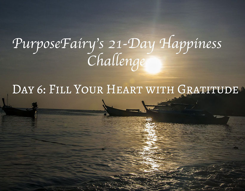 21-Day Happiness Challenge Day 6