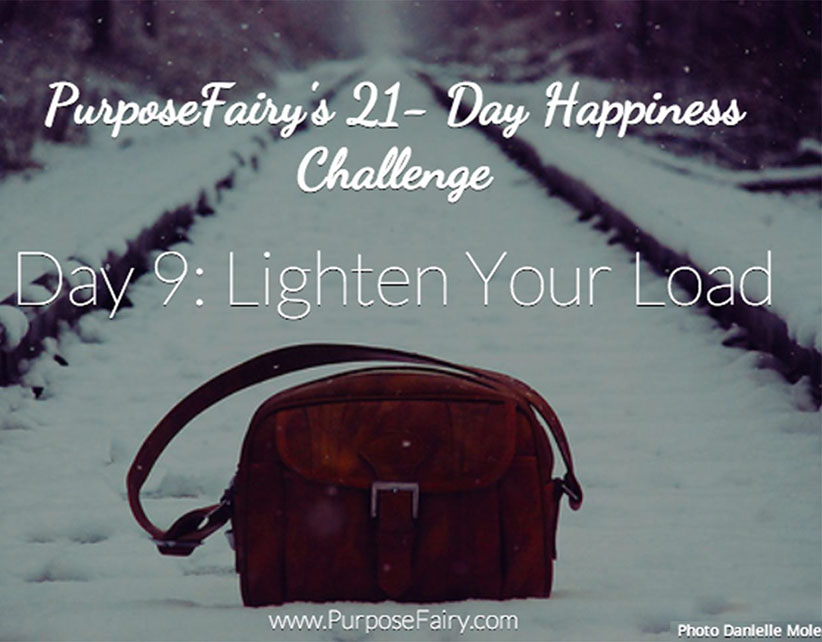 21-Day Happiness Challenge Day 9