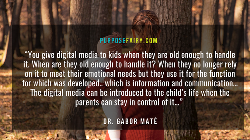 Gabor Maté: Protecting Children from Social Media and Other Addictive Devices