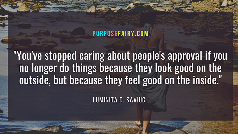 5 Signs You've Stopped Caring About People's Approval