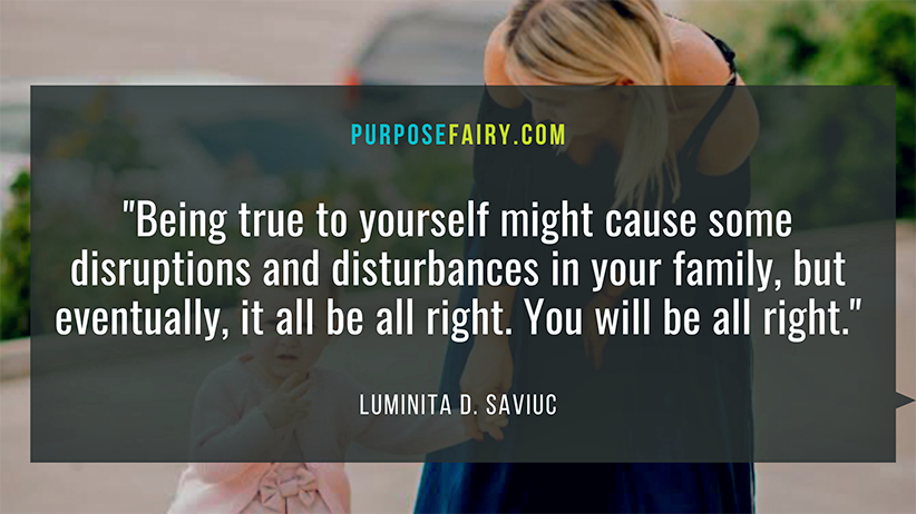 How to Find the Courage to Disappoint Your Family to Be True to Yourself