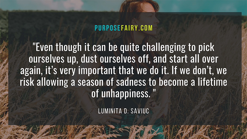 Shake Off the Sadness and Learn How to Be Happy Again
