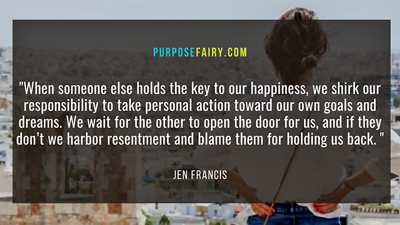 Why Placing the Key to Your Happiness in Someone Else's Pocket Is a Terrible Idea