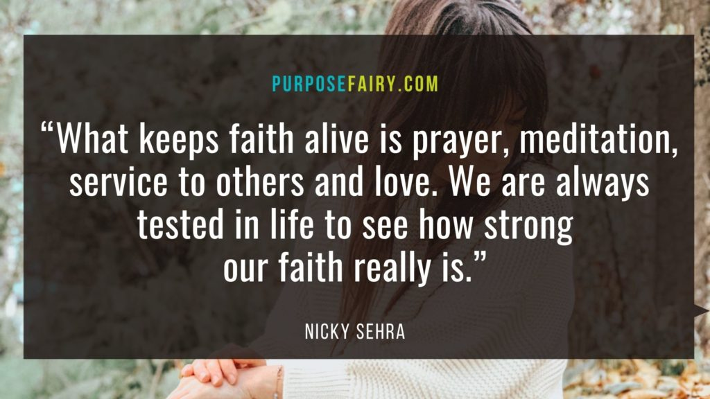 Moving Away from Fear to Faith
