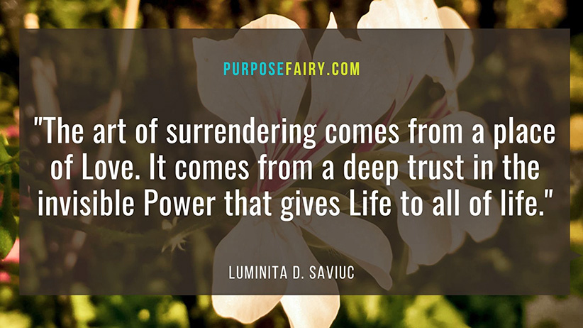 The Power of Surrendering Yourself to Love