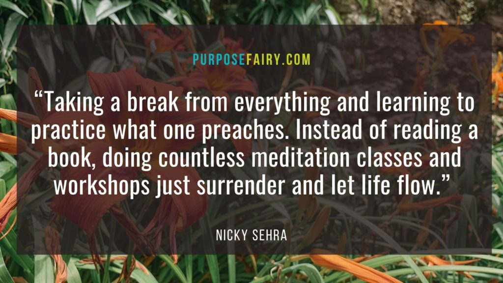When Was the Last Time You Took a Spiritual Break?