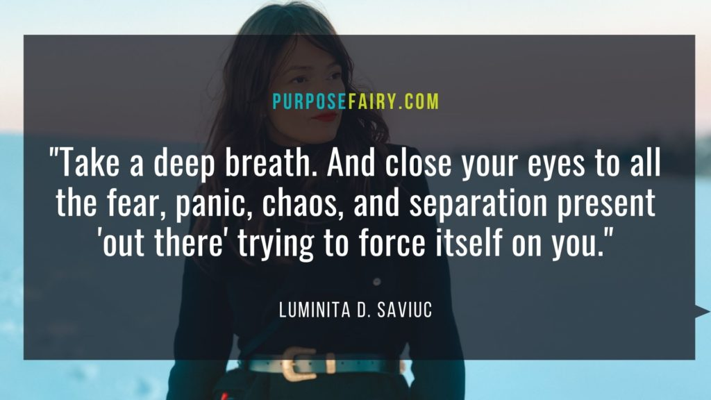 How to Find Peace in the Midst of Chaos